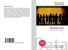 Buchcover von Barbara Lanz