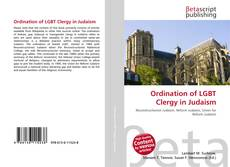 Portada del libro de Ordination of LGBT Clergy in Judaism