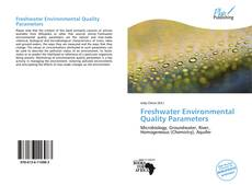 Bookcover of Freshwater Environmental Quality Parameters