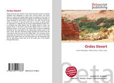 Bookcover of Ordos Desert