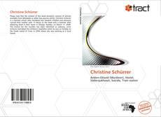 Buchcover von Christine Schürrer