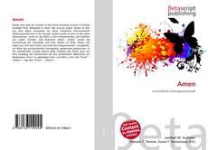 Buchcover von Amen