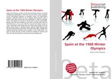 Bookcover of Spain at the 1968 Winter Olympics