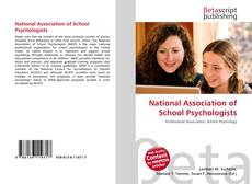 Bookcover of National Association of School Psychologists