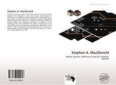 Bookcover of Stephen A. MacDonald
