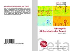 Bookcover of Amenophis (Hohepriester des Amun)