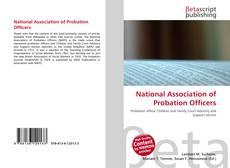 Portada del libro de National Association of Probation Officers