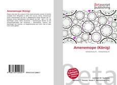 Amenemope (König) kitap kapağı