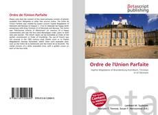 Couverture de Ordre de l'Union Parfaite