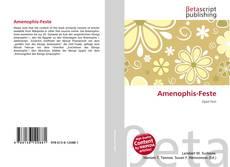 Bookcover of Amenophis-Feste
