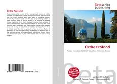Bookcover of Ordre Profond