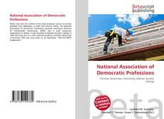 Copertina di National Association of Democratic Professions