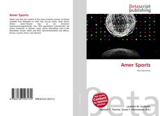 Bookcover of Amer Sports