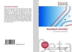 Copertina di Amerbach (Familie)