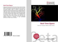 Capa do livro de Real Time Opera