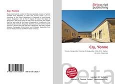 Capa do livro de Cry, Yonne