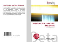 Bookcover of American Arts and Crafts Movement