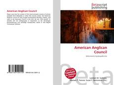 Bookcover of American Anglican Council