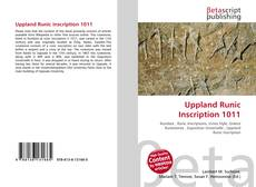 Buchcover von Uppland Runic Inscription 1011