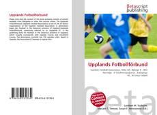 Bookcover of Upplands Fotbollförbund