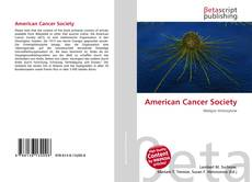 Bookcover of American Cancer Society