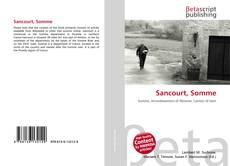 Buchcover von Sancourt, Somme