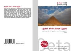Upper and Lower Egypt kitap kapağı