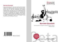 Borítókép a  Barchet-Quartett - hoz