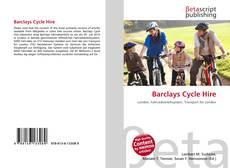Bookcover of Barclays Cycle Hire