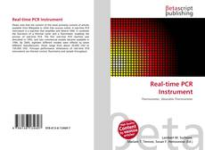 Bookcover of Real-time PCR Instrument
