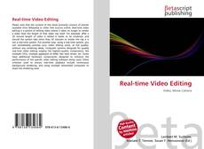 Copertina di Real-time Video Editing