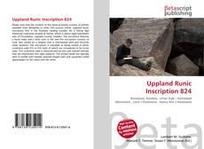 Uppland Runic Inscription 824的封面