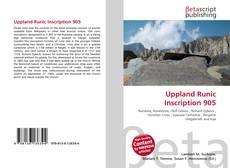 Uppland Runic Inscription 905的封面