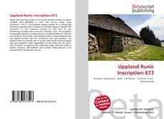 Uppland Runic Inscription 873的封面