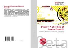 Buchcover von Destiny: A Chronicle of Deaths Foretold