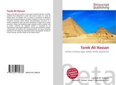Capa do livro de Tarek Ali Hassan