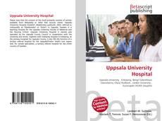 Bookcover of Uppsala University Hospital