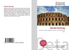 Buchcover von Bardo-Vertrag