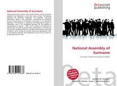 Borítókép a  National Assembly of Suriname - hoz