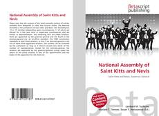 Bookcover of National Assembly of Saint Kitts and Nevis