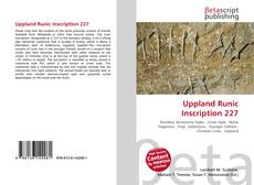 Bookcover of Uppland Runic Inscription 227