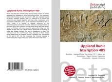 Bookcover of Uppland Runic Inscription 489