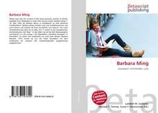 Buchcover von Barbara Ming
