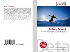 Buchcover von Barbara Petzold