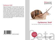 Couverture de Cyclosurus, Snail