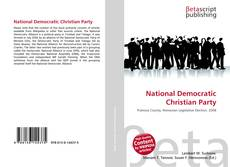 Copertina di National Democratic Christian Party