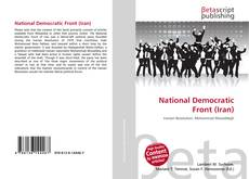 Bookcover of National Democratic Front (Iran)