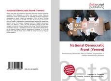 Portada del libro de National Democratic Front (Yemen)