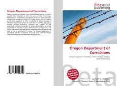 Portada del libro de Oregon Department of Corrections