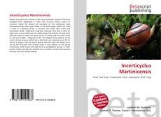 Capa do livro de Incerticyclus Martinicensis